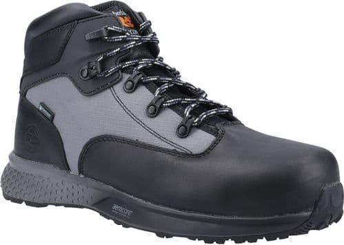Timberland Pro Euro Hiker Hiker Safety Footwear Black / Grey